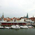 Neubau eines Yachtanlegers,  Lübeck - Hansahafen