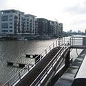 Neubau einer Schwimmsteg- anlage Frankfurt Westhafen