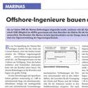 Presse: Offshore-Ingenieure bauen auf Wasser