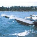 Seaflex Schwimmstege und Wellenbrecher